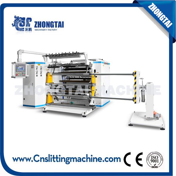 ZTM-K Servo Drived High Speed Slitter Rewinder