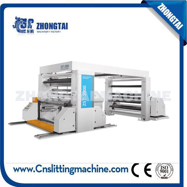 ZST-2000 Automatic Paper Roll Slitting and Rewinding Machine