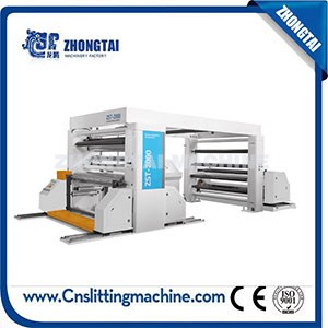 ZST-2000 Paper Roll Slitting Rewinder Machine