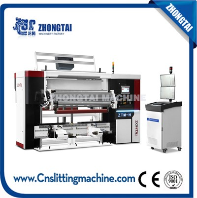 NEW ZTM-H Automatic Doctoring Rewinding Machine